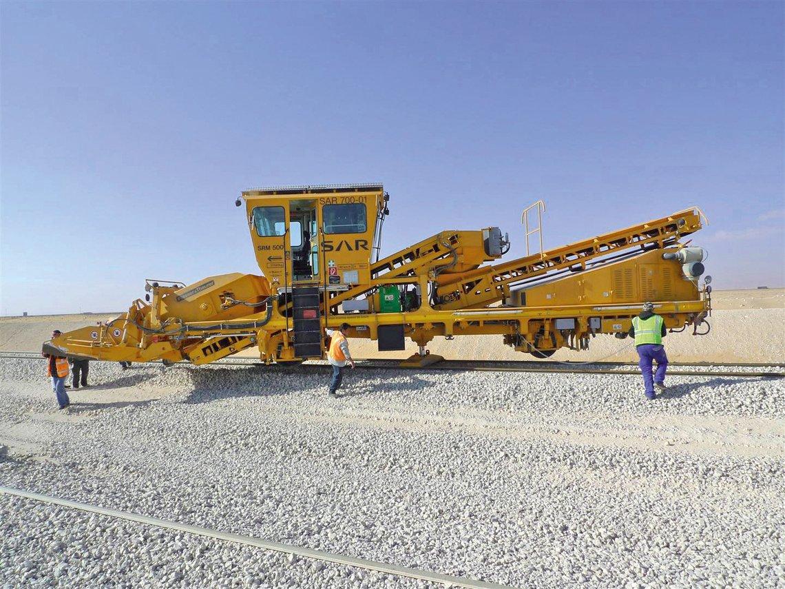 Sand Removal Machine For Saudi Arabia