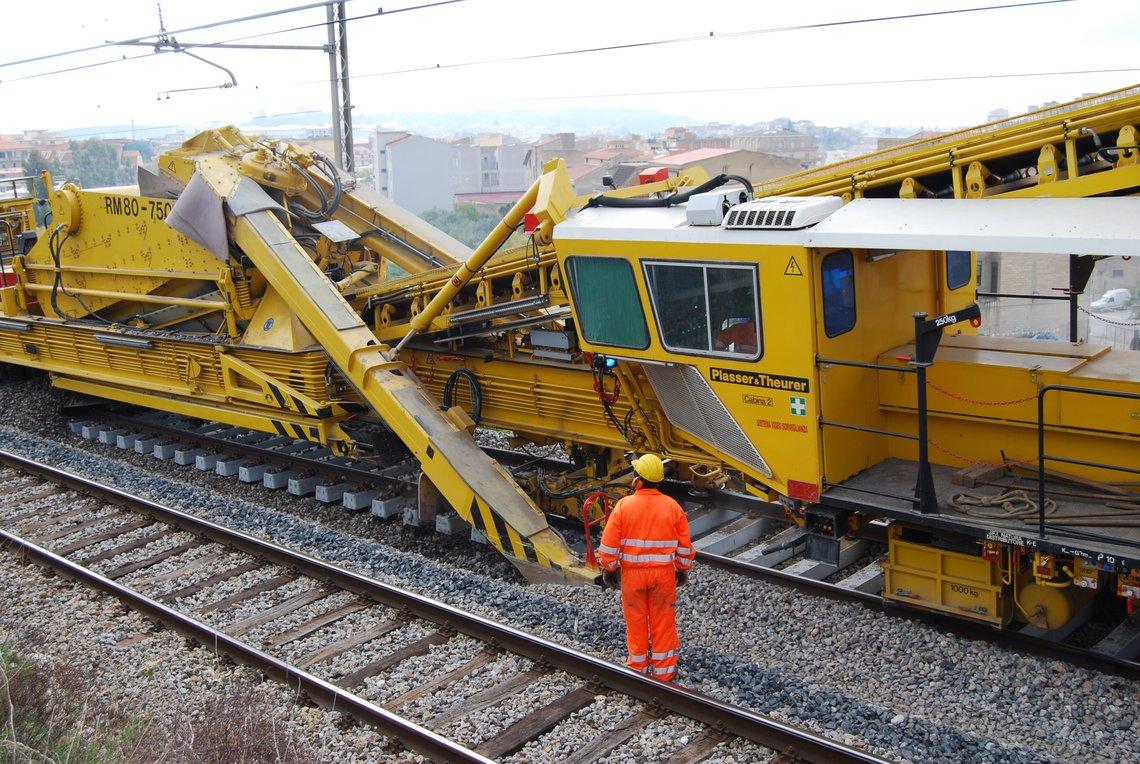 Railroad Track Maintenance Training : Plasser theurer service support technical