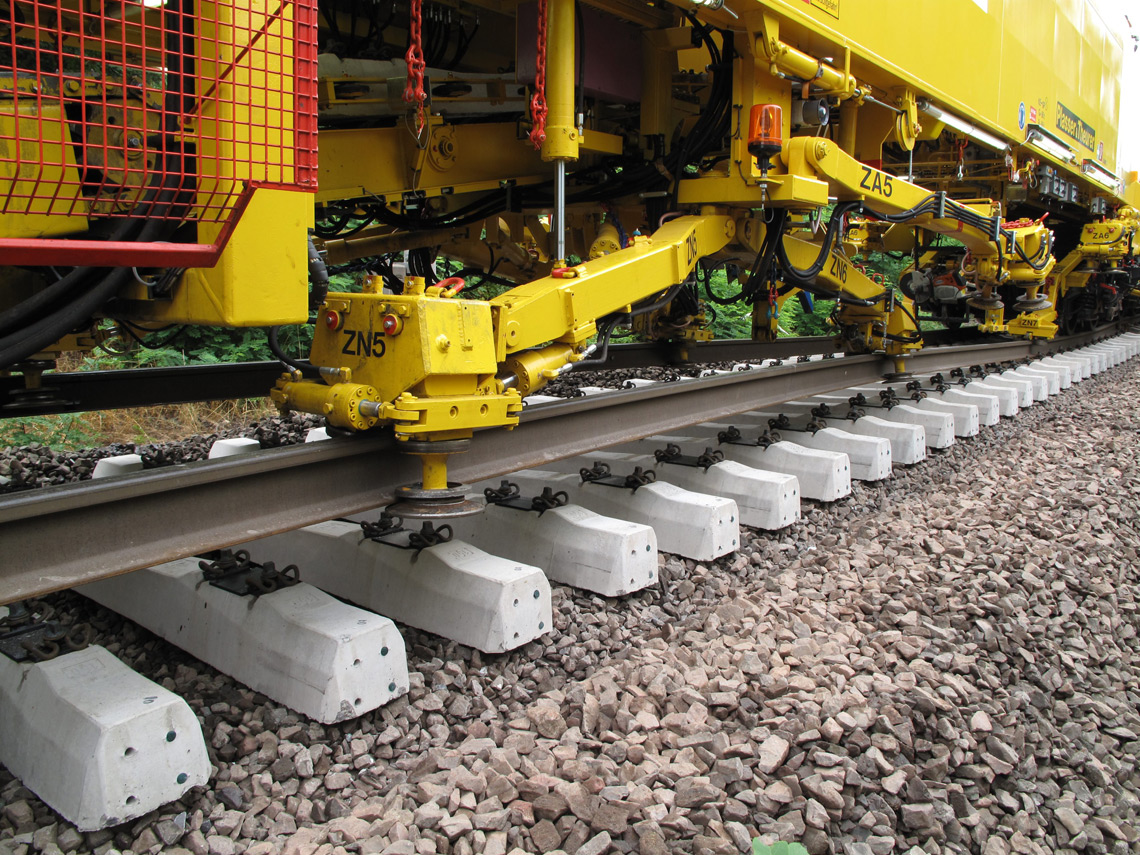 Plasser Amp Theurer Machines Track Renewal And Track