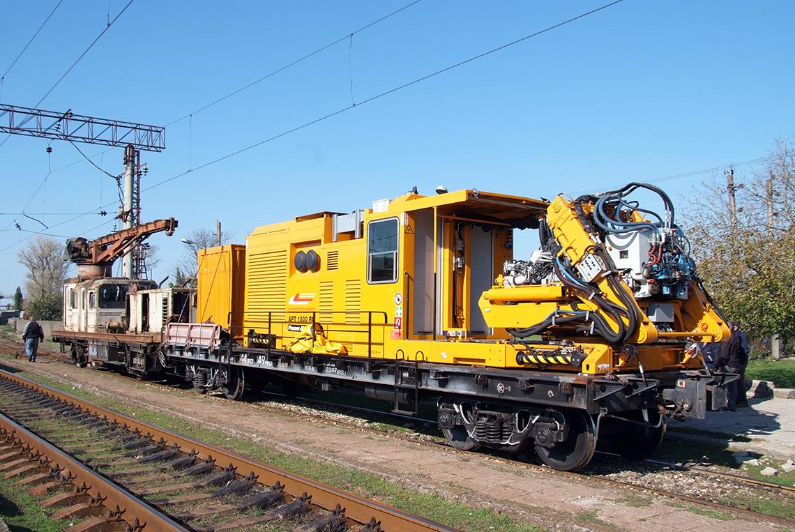 Plasser Amp Theurer Machines Mobile Rail Rectification